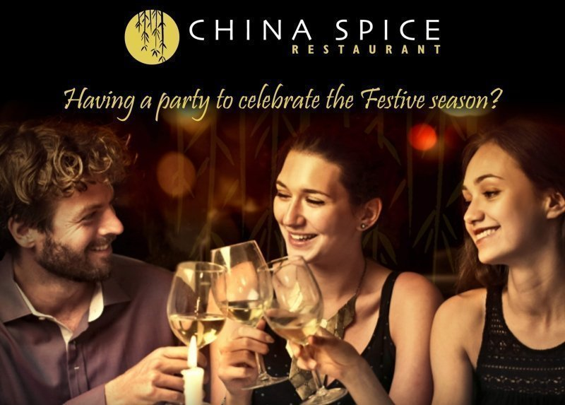 CHINA SPICE Restaurant - Festive Menus